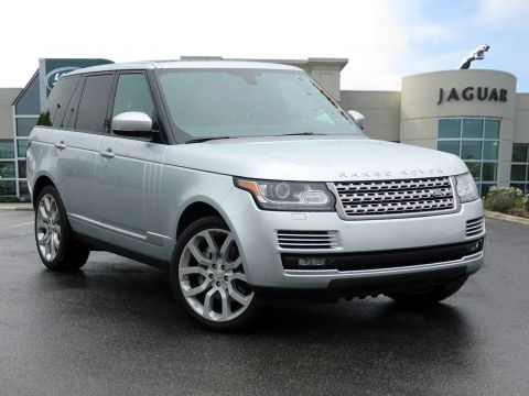 Certified Pre-Owned 2015 Land Rover Range Rover Supercharged With Navigation & 4WD