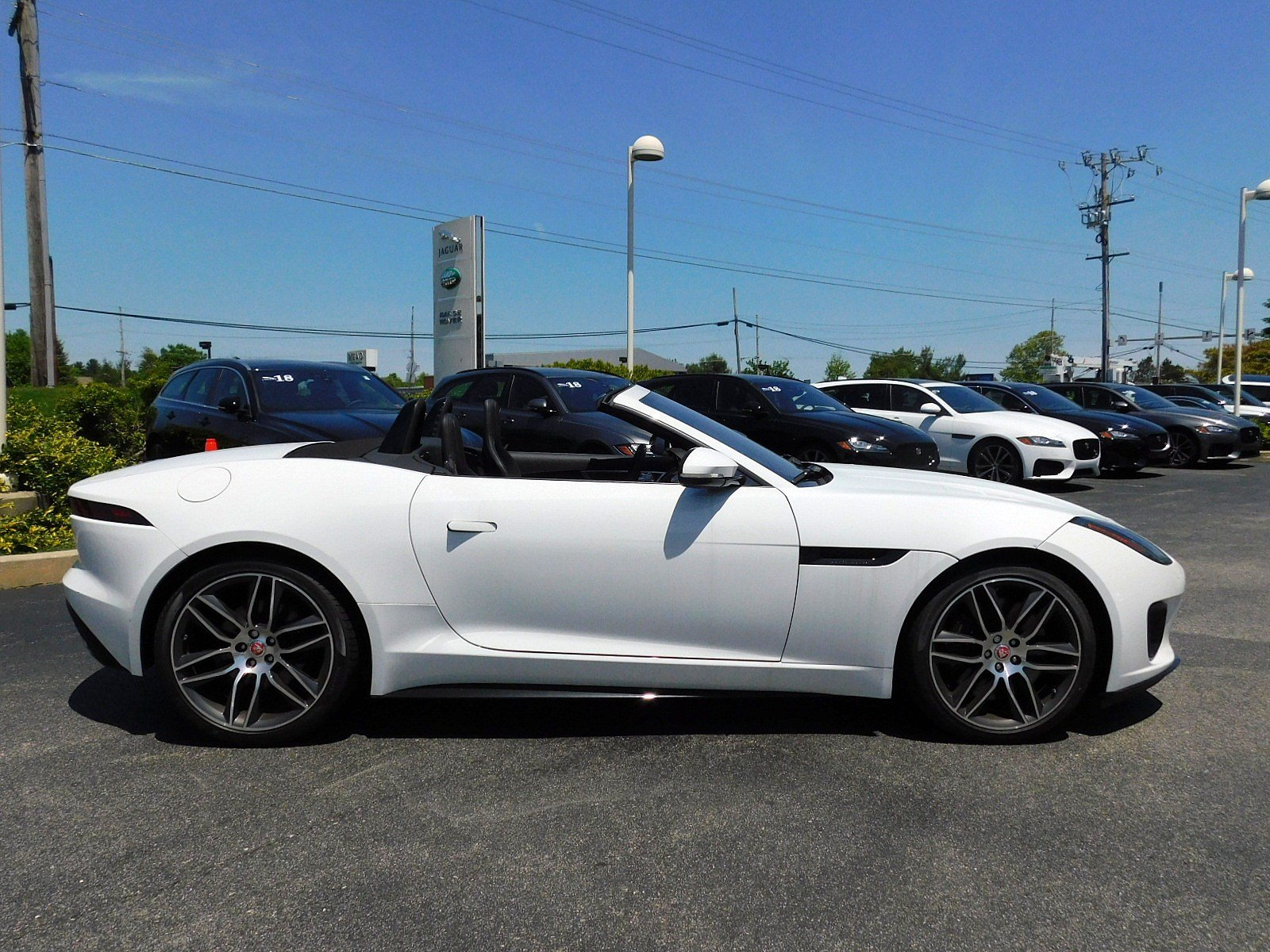 New 2018 Jaguar F TYPE R Dynamic Convertible in West Chester J