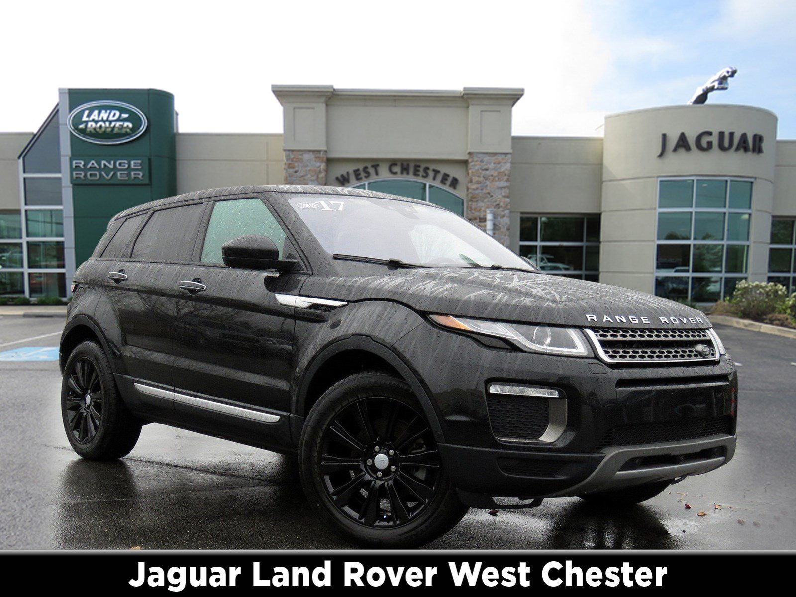 Pre Owned 2017 Land Rover Range Rover Evoque HSE Sport Utility in