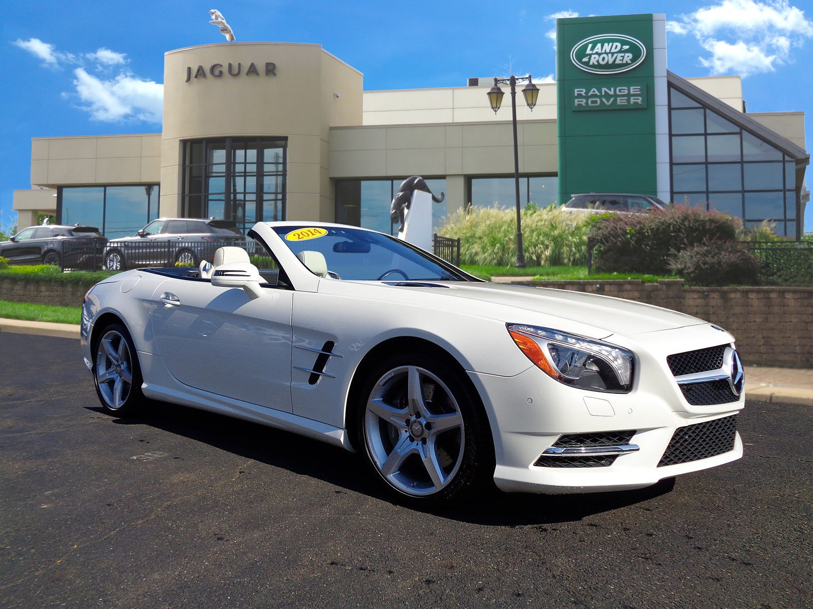 Pre Owned 2014 Mercedes Benz SL Class SL 550 Convertible in West