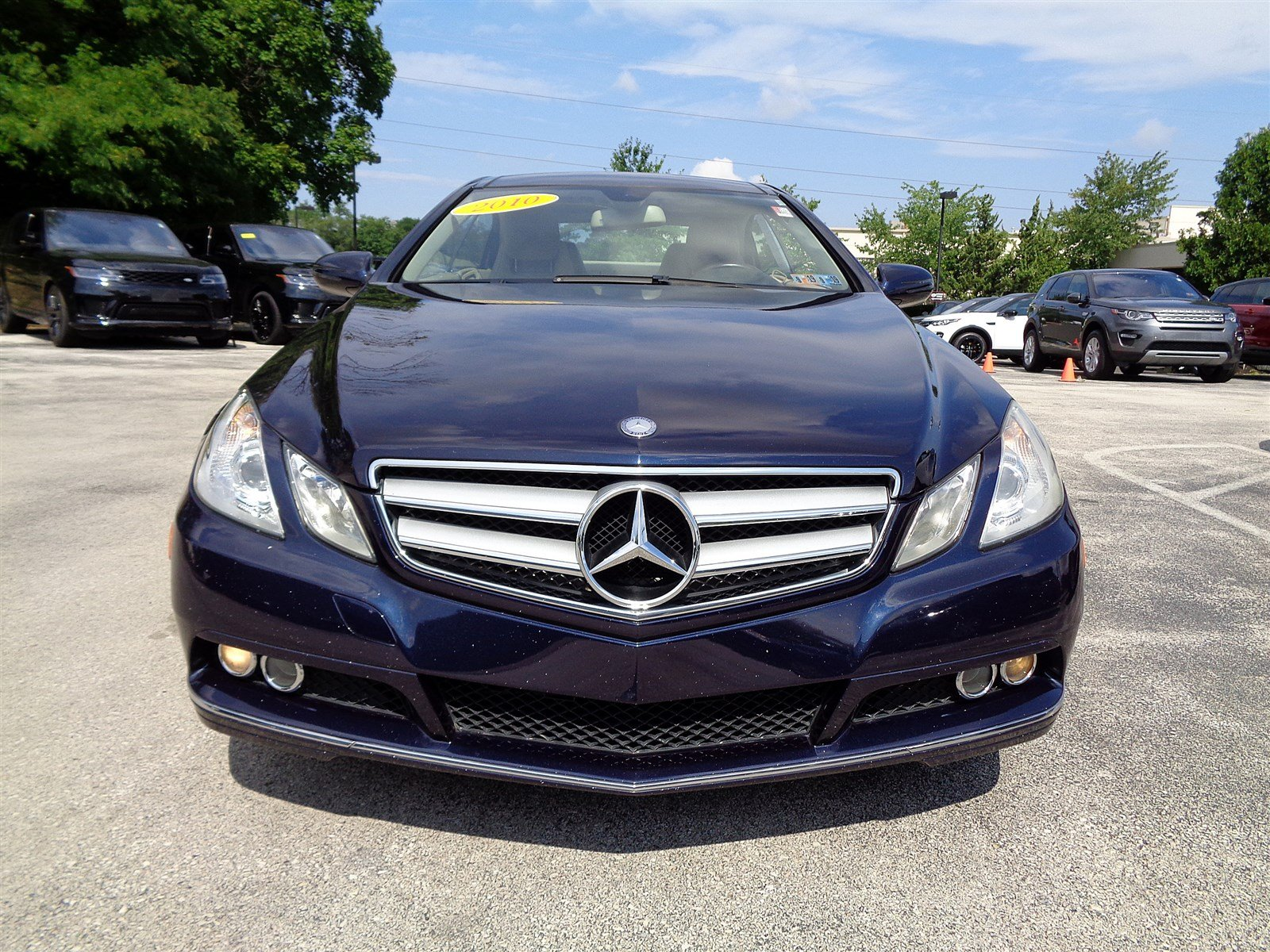Pre Owned 2010 Mercedes Benz E Class E 350